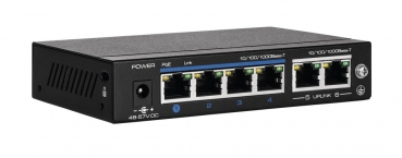 ABUS 4-Port PoE Gigabit Switch ITAC10100