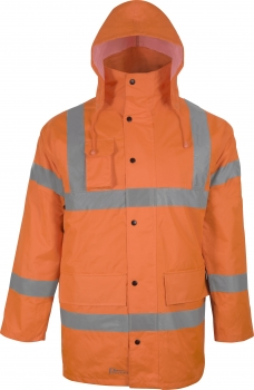 Prevent Warnschutz-Parka orange