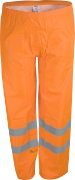 Prevent Warnschutz-Regenhose orange