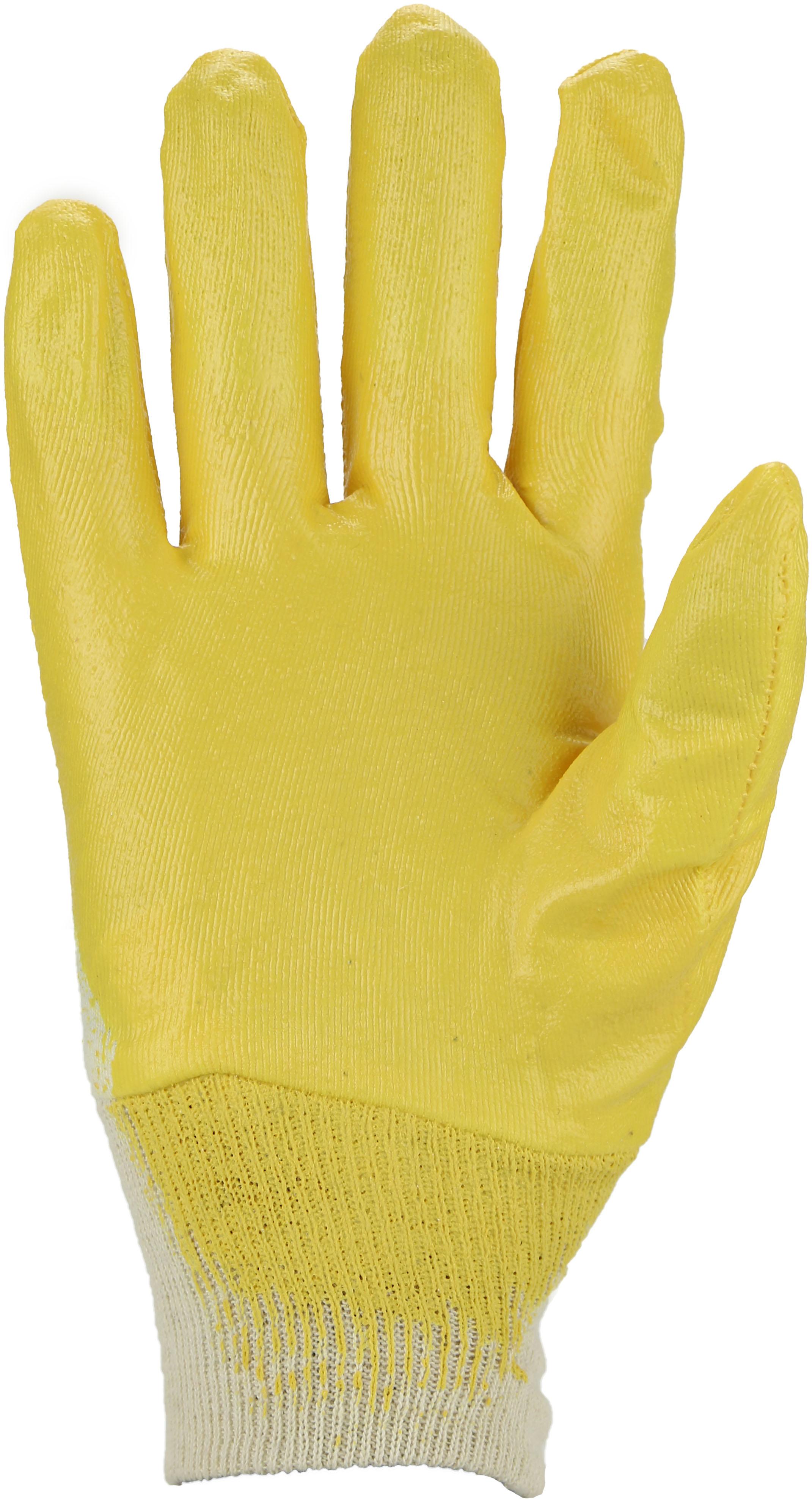 Gr ASATEX Nitril-Handschuh 03400P gelb 8 12 Paar